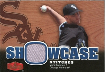 2006 Flair Showcase Stitches #MB Mark Buehrle Jsy
