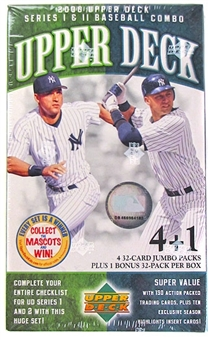 2006 Upper Deck Series 1+2 Jumbo 5 Pack Box