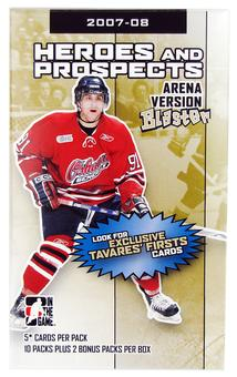 2007/08 In The Game Heroes & Prospects Arena Version Hockey 12-Pack Box