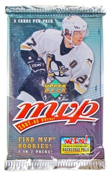 2007/08 Upper Deck MVP Hockey Retail Pack