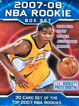 2007/08 Upper Deck Rookie Premiere Basketball Hobby Set (Box)