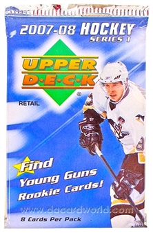 2007/08 Upper Deck Series 1 Hockey Retail Pack