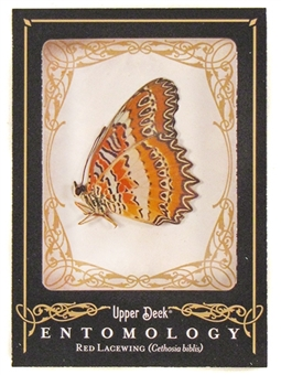 2009 Upper Deck Goodwin Champions #ENT6 Red Lacewing Entomology