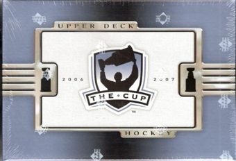 2006/07 Upper Deck The Cup (Exquisite) Hockey Hobby Box
