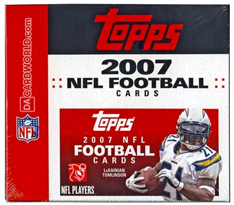 2007 Topps Football 24-Pack Box