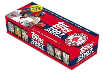 2007 Topps Factory Set Baseball (Box) (Boston Red Sox)