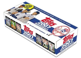 2007 Topps Factory Set Baseball (Box) (New York Yankees)