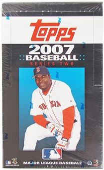 2007 Topps Series 2 Baseball 36 Pack Box