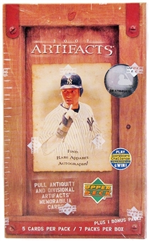 2007 Upper Deck Artifacts Baseball 7-Pack Blaster Box