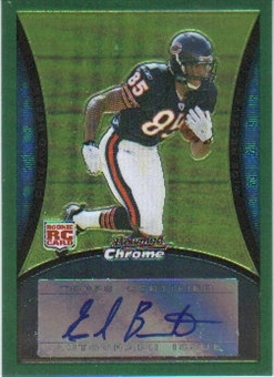 2008 Bowman Chrome Rookie Autographs Green #BC95 Earl Bennett 74/150