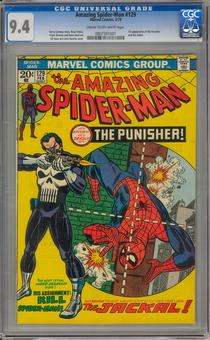 Amazing Spider-Man #129 CGC 9.4 (C-OW) *0807391001*