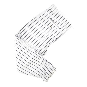 Rawlings Baseball Pants - White/Navy Pinstripe (Adult XS)