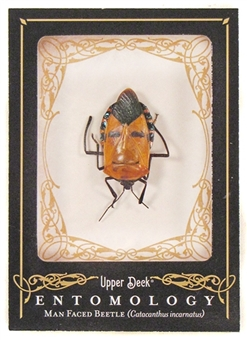 2009 Upper Deck Goodwin Champions #ENT20 Man Face Beetle Entomology SP