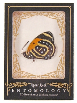 2009 Upper Deck Goodwin Champions #ENT5 BD Butterfly Entomology