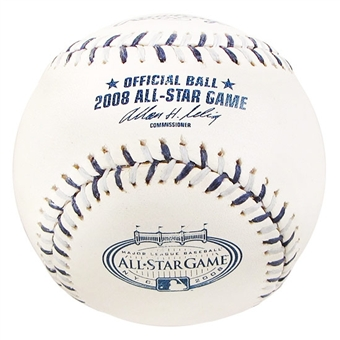 Rawlings 2008 All Star Game Commemorative Official Baseball (Slightly Stained)