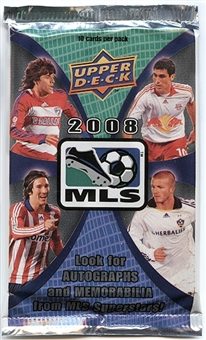 2008 Upper Deck MLS Major League Soccer Pack