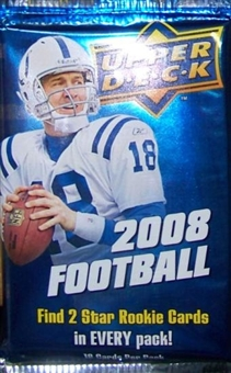 2008 Upper Deck Football Retail Pack