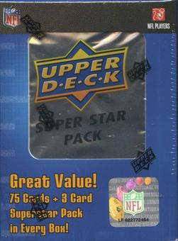 2008 Upper Deck Football Super Star Jumbo Pack