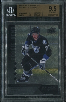 2009/10 Upper Deck Black Diamond #218 Victor Hedman RC BGS 9.5 Gem Mint