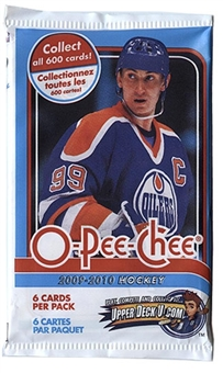 2009/10 Upper Deck O-Pee-Chee Hockey Retail Pack (Lot of 24)