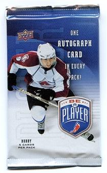 2009/10 Upper Deck Be A Player Signature Hockey Hobby Pack