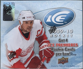 2009/10 Upper Deck Ice Hockey Hobby Box