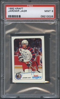 1992/93 Kraft Hockey Jaromir Jagr PSA 9 (MINT) *0026