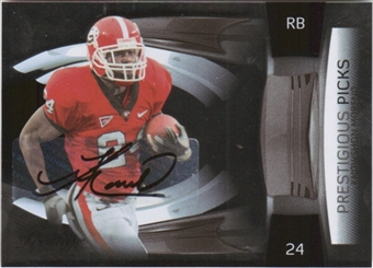 2009 Playoff Prestige Prestigious Picks Autographs #33 Knowshon Moreno 17/100