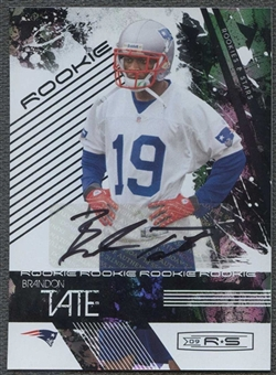 2009 Donruss Rookies and Stars Longevity Autographs #151 Brandon Tate 14/125
