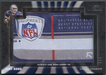 2009 Topps Unique Laundry Tag Relic #TR2 Tony Romo 1/1 NFL Equipment Patch