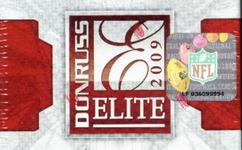 2009 Donruss Elite Football 24-Pack Lot (Box)