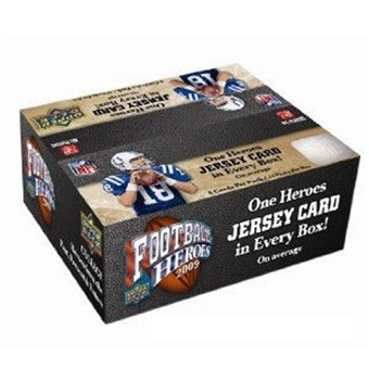 2009 Upper Deck Heroes Football 24-Pack Box
