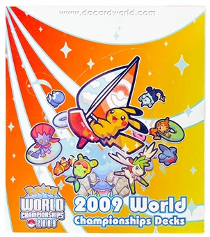 Pokemon 2009 World Championship Deck Box
