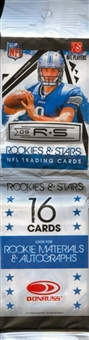 2009 Donruss Rookies & Stars Football Rack Pack (Lot of 24)