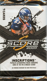 2009 Score Football 180-Pack Lot (Same as 5 boxes)