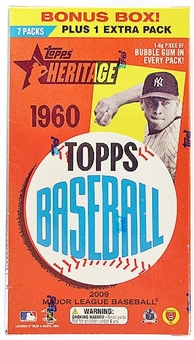 2009 Topps Heritage Baseball 8-Pack Box