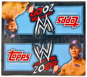 2009 Topps WWE Wrestling 24-Pack Box