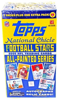 2009 Topps National Chicle Football 8-Pack Blaster Box