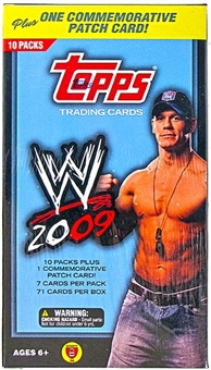 2009 Topps WWE Wrestling 10-Pack Box