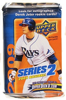 2009 Upper Deck Series 2 Baseball Retail Pack