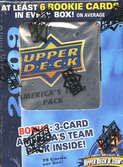 2009 Upper Deck Football Super Pack (Box)