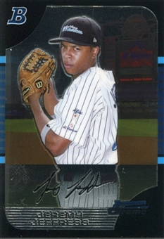 2005 Bowman Chrome Draft AFLAC #4 Jeremy Jeffress