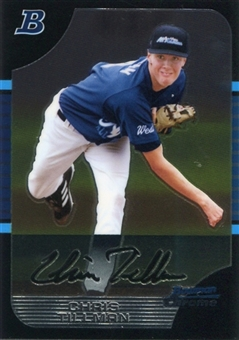 2005 Bowman Chrome Draft AFLAC #12 Chris Tillman