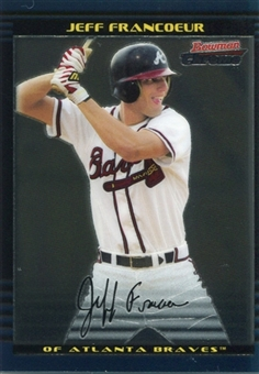 2002 Bowman Chrome Draft #23 Jeff Francoeur RC