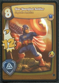 Marvel Super Hero Squad Hero's Destiny Single Star Spangled Soldier Rare