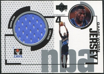 1998/99 Upper Deck Game Jerseys #GJ2 Shawn Kemp Blue