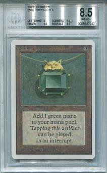 Magic the Gathering Unlimited Single Mox Emerald BGS 8.5 - *0008647942*