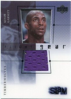 2000/01 Upper Deck Slam Flight Gear #KGG Kevin Garnett Purple