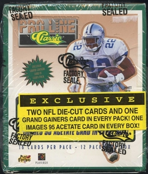 1995 Classic Pro Line Football 12-Pack Box