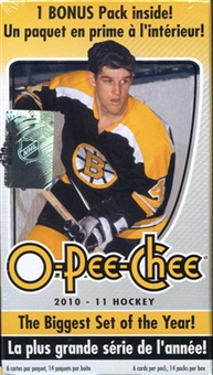 2010/11 Upper Deck O-Pee-Chee Hockey 14-Pack Blaster 3-Box Lot